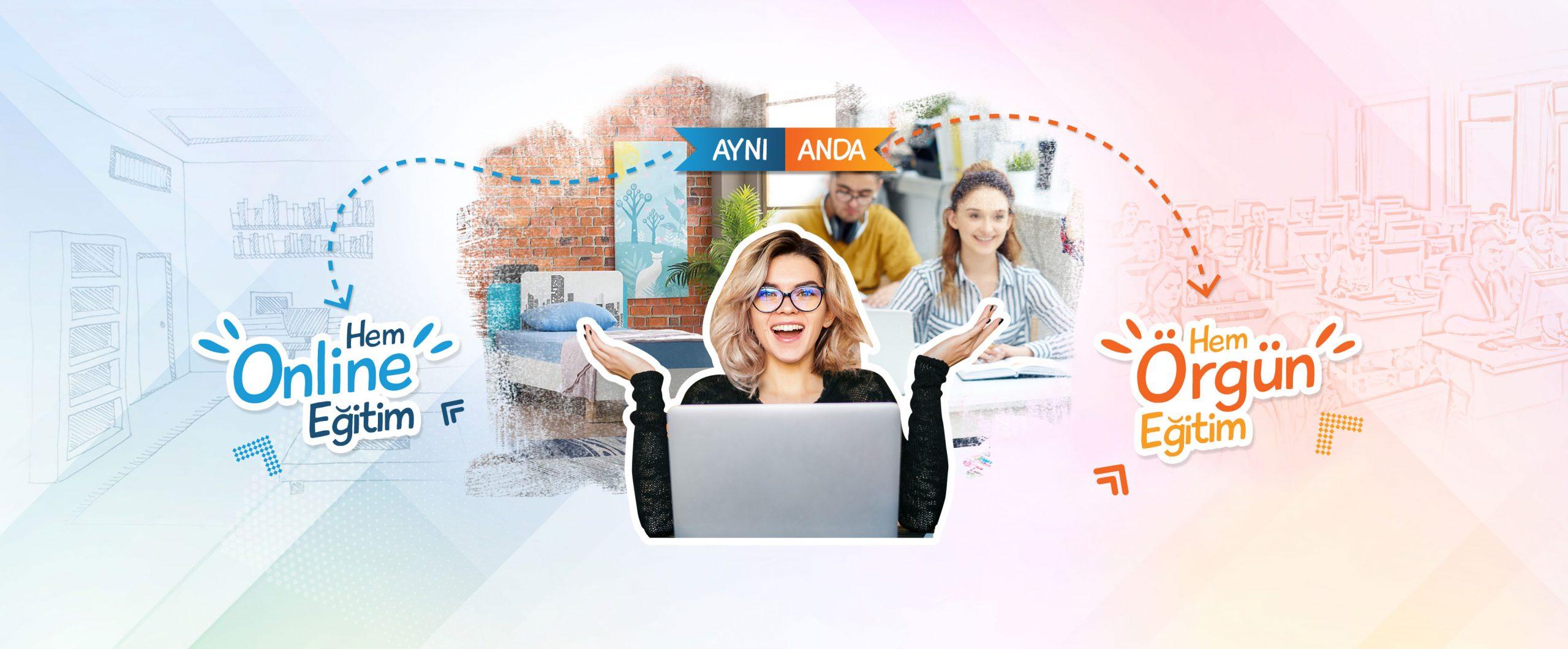 Online Eğitim, Uzaktan Canlı Eğitim, Online kurs